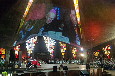 Megafonía y video proyección: Encuentro Nacional del Año de la Vida Consagrada