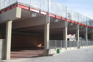 Colegio: Construcción de Pistas Polideportivas y Espacios de Recreo