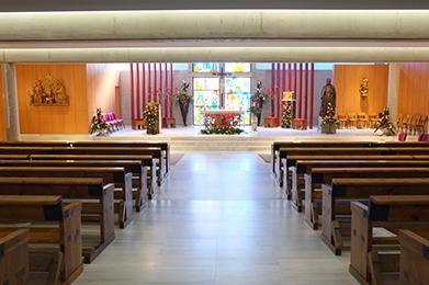 Megafonía y video proyección en iglesia